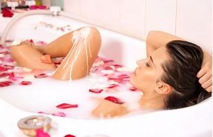 Теплая ванна многим идет на пользу