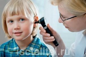 Болезни уха у детей