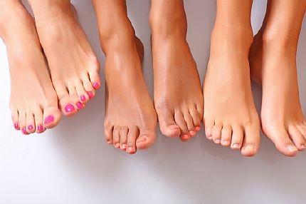 Сода при потливости ног