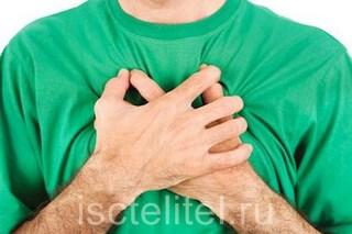 Очень часто бьется сердце