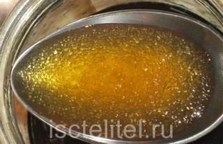 Использование желатина