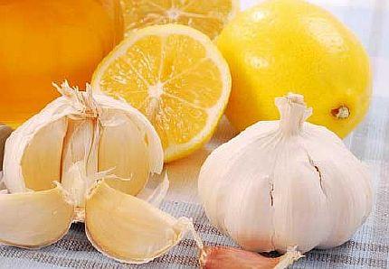 Лимонно-чесночная смесь от храпа