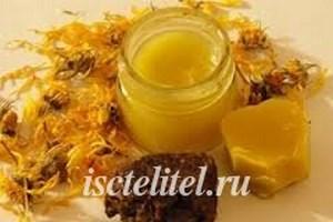 Прополис со сливочным маслом