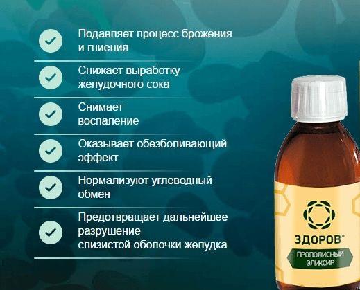Настойка прополиса аптечная. Лечебные свойства и применение.