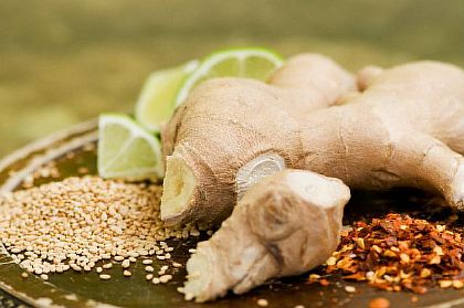 Имбирь и витамин С против простуды
