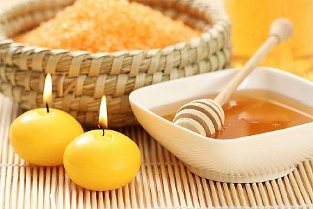 Мед и свечи помогут