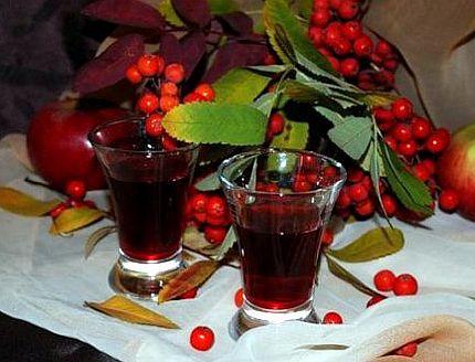 Рябиновый сок при поносе